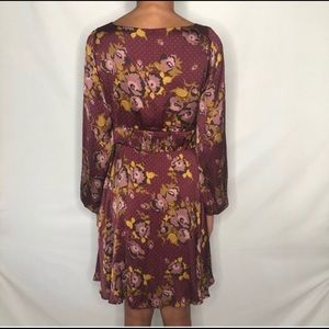 Free People Morning Light Floral Mini dress Size 6